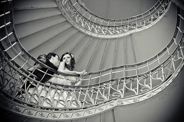 Kręcone schody na Pradze