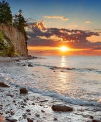 Plaża przy Klifie – Gdynia, Orłowo